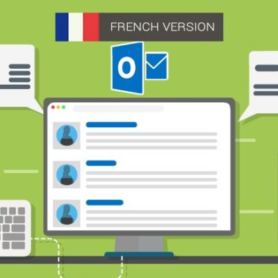 Ms Outlook 2013 Package – Introduction, Intermediate And Advanced (french)